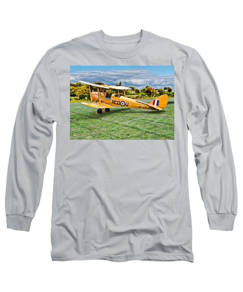 De Havilland Dh82 Tiger Moth Long Sleeve T-Shirt