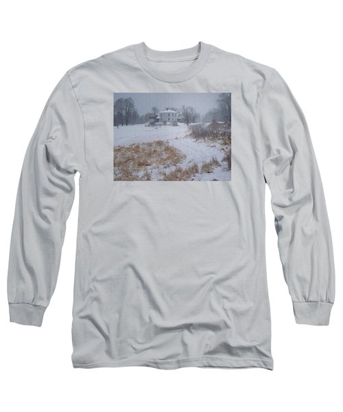 Long Sleeve T-Shirt featuring the photograph December by Joy Nichols