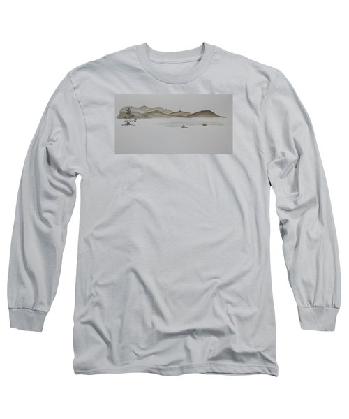 Desert Oasis Long Sleeve T-Shirt by Christine Lathrop
