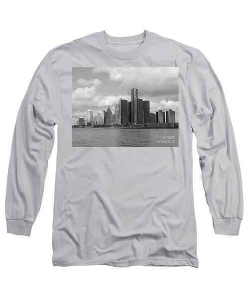 Detroit Skyscape Long Sleeve T-Shirt