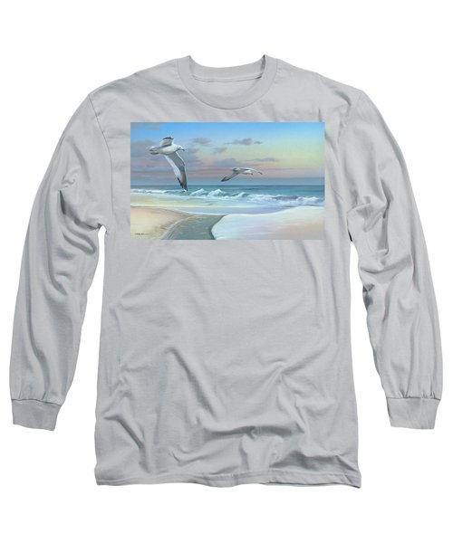 Dissolving Time Long Sleeve T-Shirt