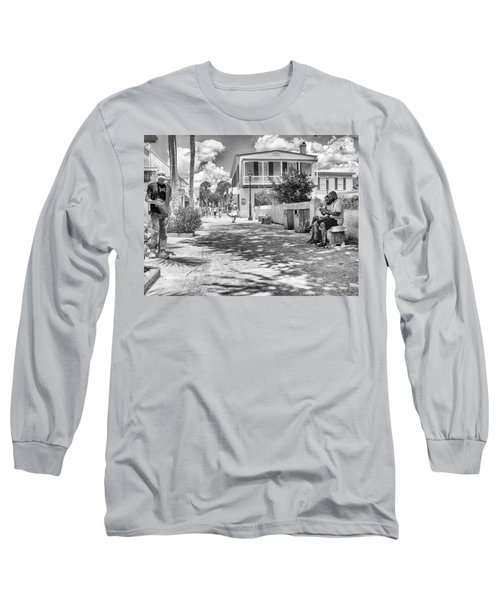 Long Sleeve T-Shirt featuring the photograph Distraction by Howard Salmon