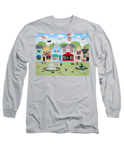 Dog Lovers' Lane Long Sleeve T-Shirt