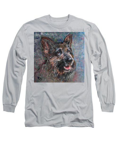 Doggy Dreams Long Sleeve T-Shirt by Richard James Digance