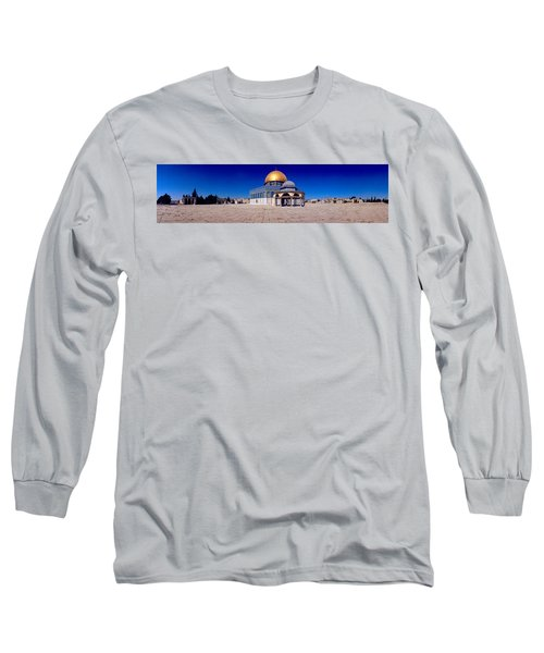 Dome Of The Rock, Temple Mount Long Sleeve T-Shirt
