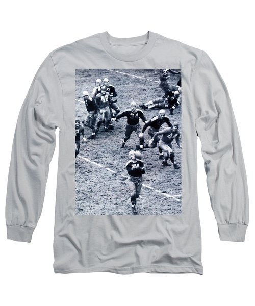 Don Hutson In Action Long Sleeve T-Shirt