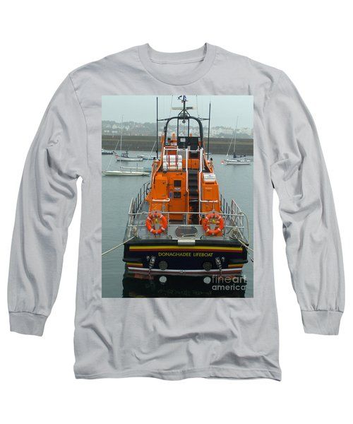 Donaghadee Rescue Lifeboat Long Sleeve T-Shirt