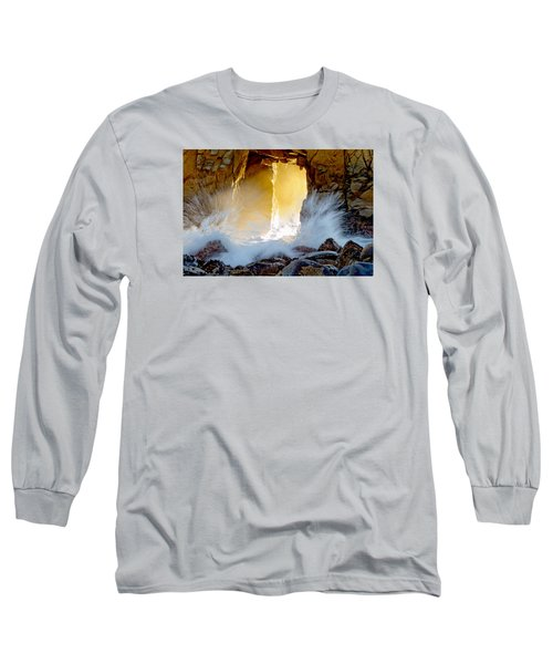 Doorway To The Pacific Ocean Long Sleeve T-Shirt