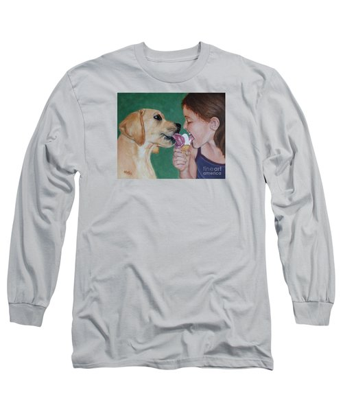 Double Dip - Ice Cream For Two Long Sleeve T-Shirt