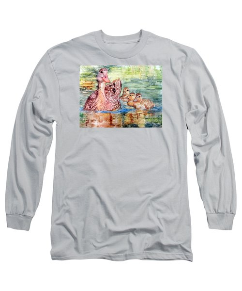 Duck Family Long Sleeve T-Shirt