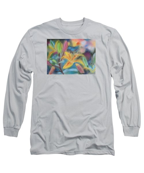 Early Arrival Lily Long Sleeve T-Shirt by Julie Brugh Riffey