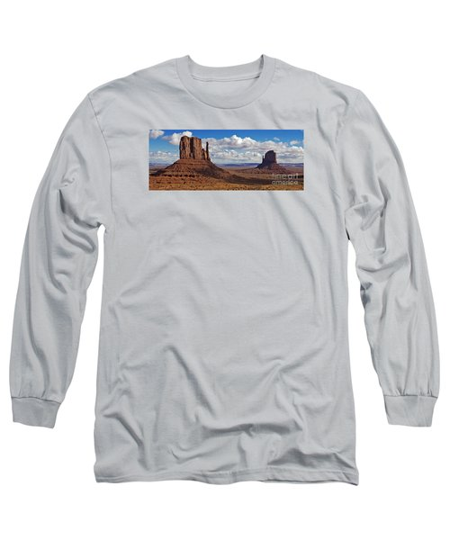 East And West Mittens Long Sleeve T-Shirt by Jerry Fornarotto