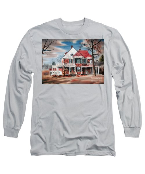Edgar Home Long Sleeve T-Shirt