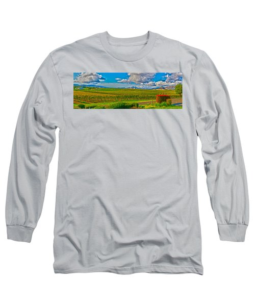 Edna Wineries Ca Long Sleeve T-Shirt