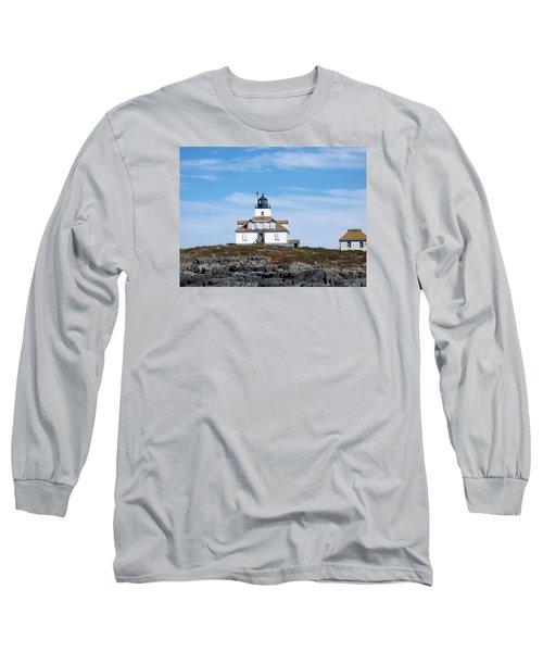 Egg Rock Lighthouse Long Sleeve T-Shirt
