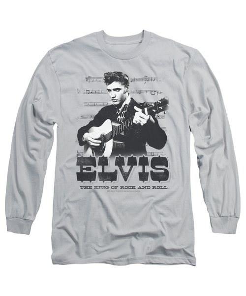 Elvis - The King Of Long Sleeve T-Shirt by Brand A