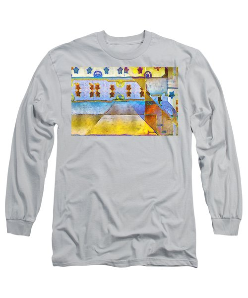 Empty Stage Long Sleeve T-Shirt by RC deWinter