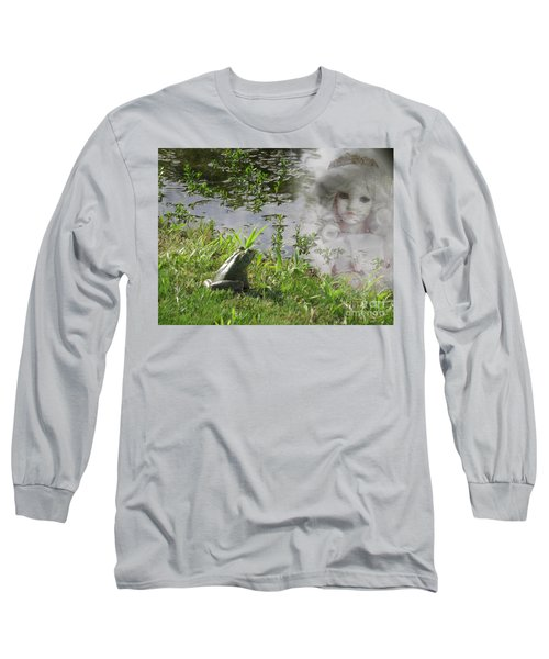 Long Sleeve T-Shirt featuring the photograph Enchanted Prince Fairy Tale by Ella Kaye Dickey