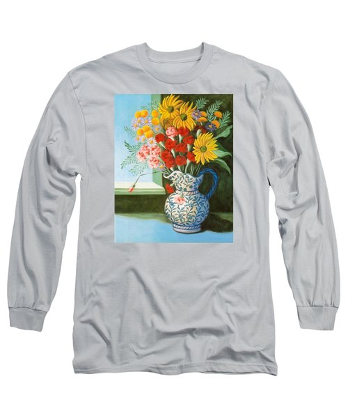 English Bouquet Long Sleeve T-Shirt