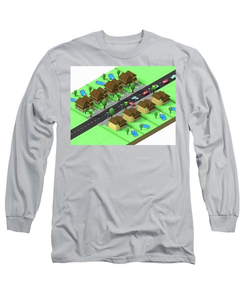 Escape Suburbia Long Sleeve T-Shirt