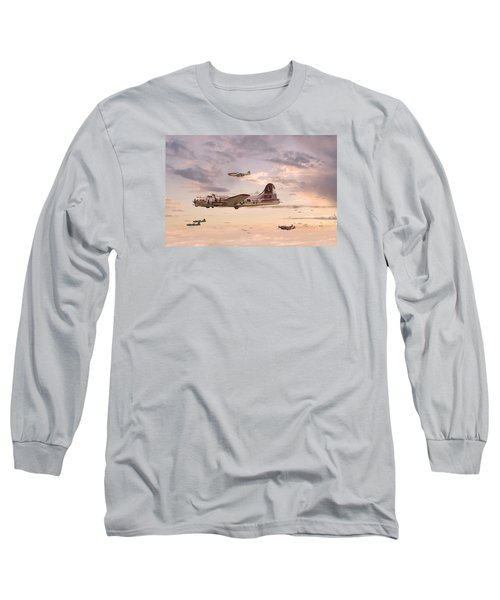 Escort Service Long Sleeve T-Shirt by Pat Speirs