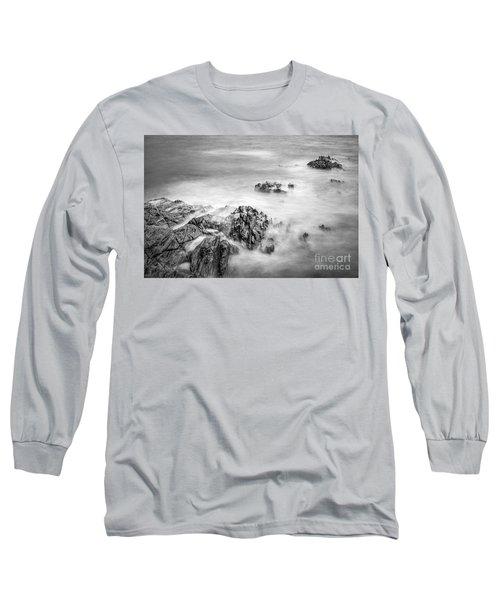 Estacas Beach Galicia Spain Long Sleeve T-Shirt
