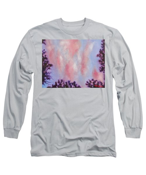 Evening Clouds Long Sleeve T-Shirt