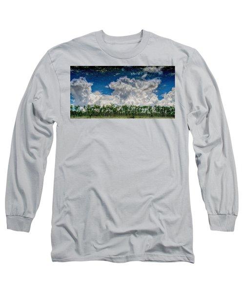 Reflected Everglades 0203 Long Sleeve T-Shirt