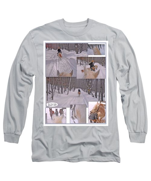 Every Day Is The First Day Of The Year To Me Long Sleeve T-Shirt by Patricia Keller