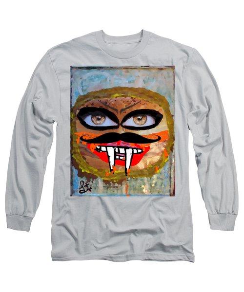 Evil Cheese Sandwhich Long Sleeve T-Shirt