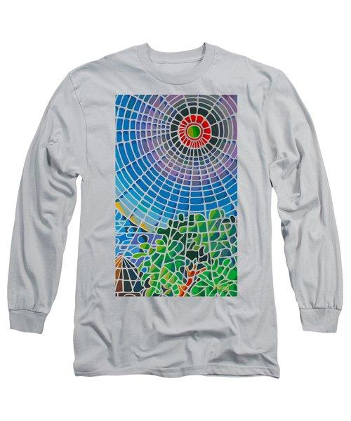 Long Sleeve T-Shirt featuring the digital art Eye Of God by Anthony Mwangi