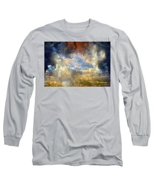 Eye Of The Storm  - Abstract Realism Long Sleeve T-Shirt