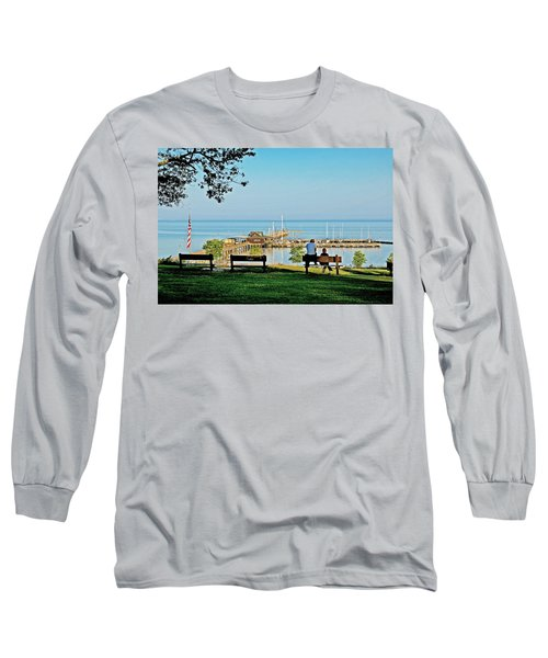 Fairhope Alabama Pier Long Sleeve T-Shirt