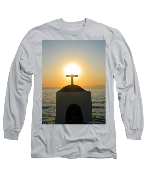 Faith Long Sleeve T-Shirt by Leena Pekkalainen