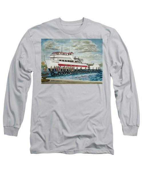 Fajardo Ferry From Vieques Puerto Rico Long Sleeve T-Shirt