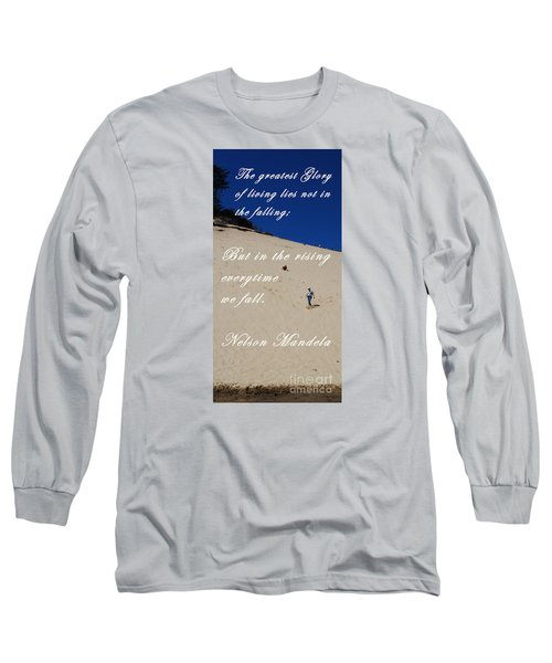 Fall And Rise Long Sleeve T-Shirt by Sharon Elliott