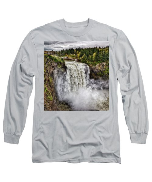 Falls In Love Long Sleeve T-Shirt by James Heckt