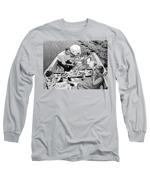Family Boating Lunch Long Sleeve T-Shirt