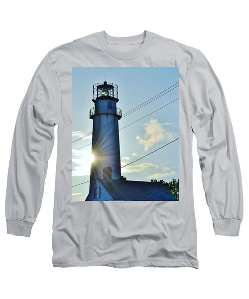Fenwick Island Lighthouse - Delaware Long Sleeve T-Shirt