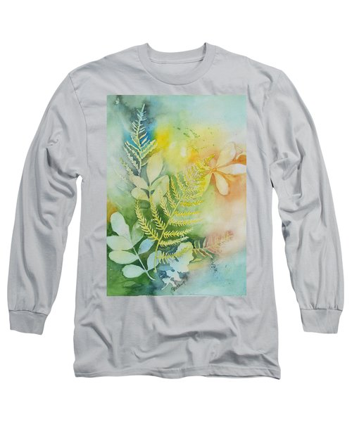 Ferns 'n' Leaves Long Sleeve T-Shirt