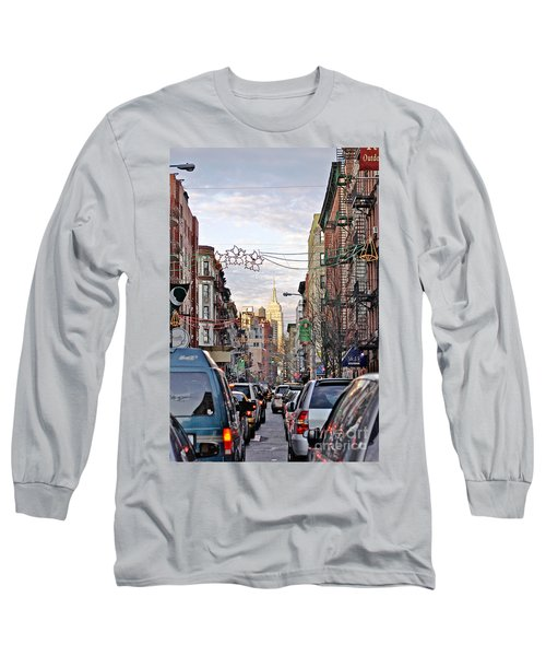 Festive Nyc Long Sleeve T-Shirt