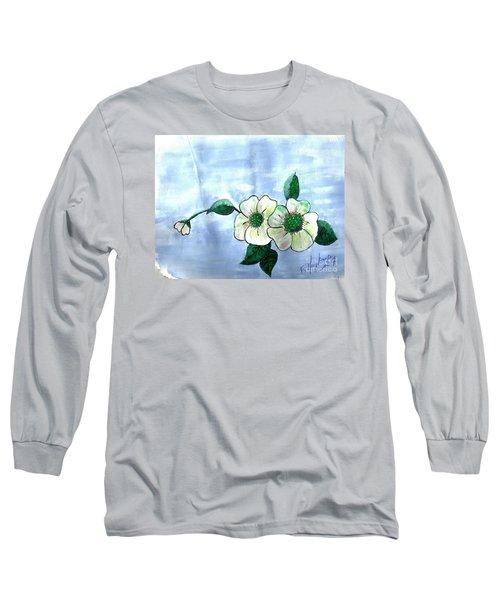 Field Flowers Long Sleeve T-Shirt by Francine Heykoop