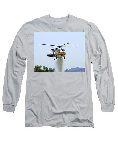 Fire Hawk Water Drop Long Sleeve T-Shirt