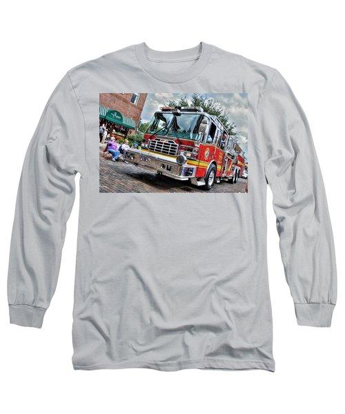 Firetruck Long Sleeve T-Shirt