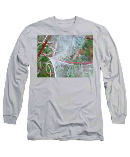 Fireweed Number One Long Sleeve T-Shirt by Brian Boyle
