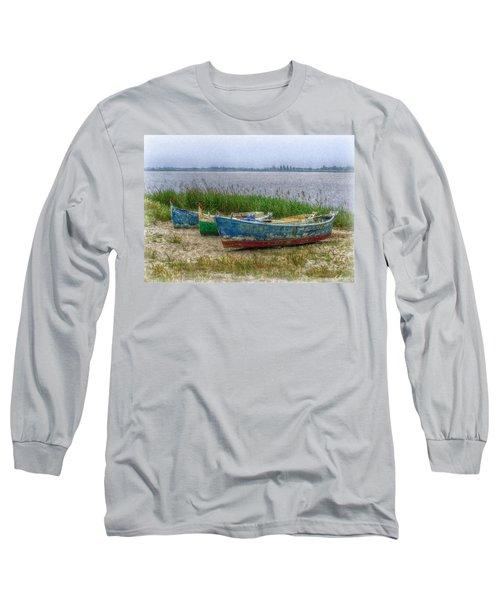 Fishing Boats Long Sleeve T-Shirt