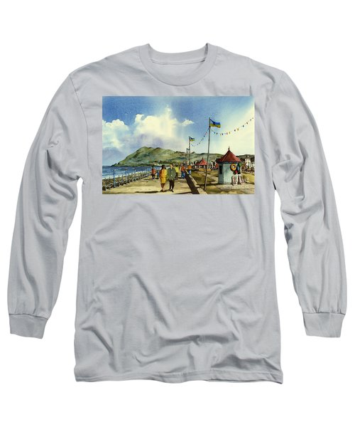 As I Walk Along The Promenade With An Independant Air  ....... Long Sleeve T-Shirt