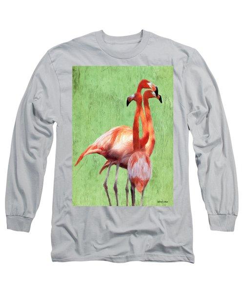Flamingo Twist Long Sleeve T-Shirt