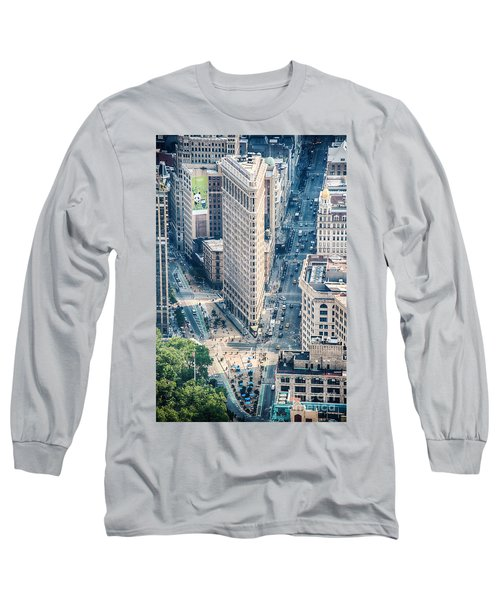 Flat Iron Building Long Sleeve T-Shirt