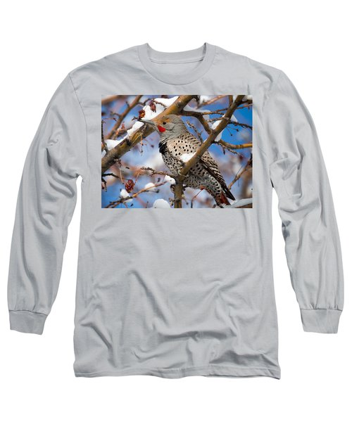 Flicker In Snow Long Sleeve T-Shirt